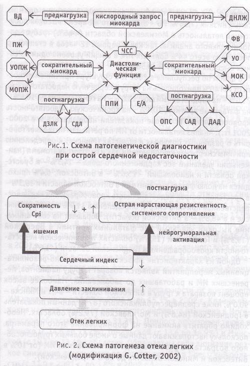 схема патогенетической